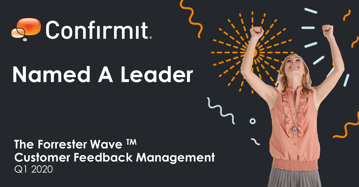 Confirmit named a Leader in The Forrester Wave 2020