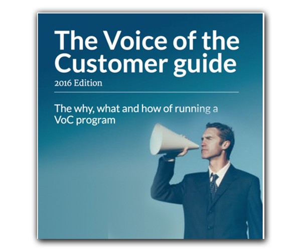 2016 Voice of the Customer Guide
