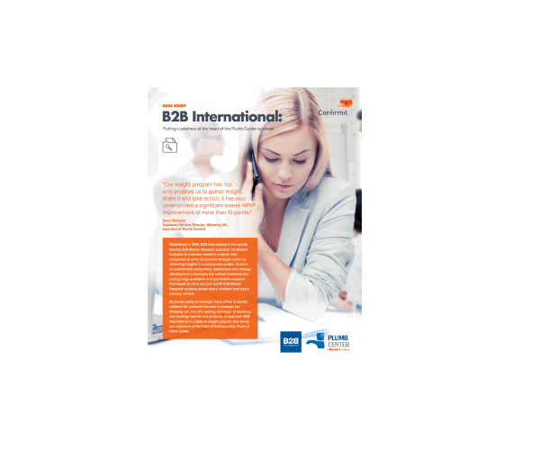 B2B International Case Study