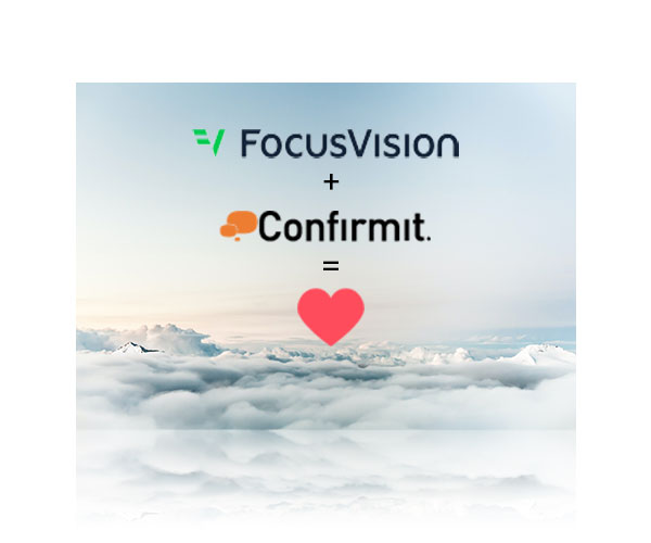 FocusVision and Confirmit Merges!