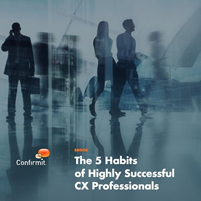EBook: The 5 Habits of Highly Successful CX Professionals