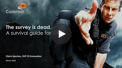 The Survey is dead… A survival guide for CX