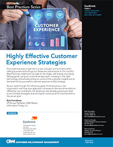 Highly Effective Customer Experience Strategies
