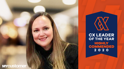 Louise Durnin of Cromwell commended 2020 CX Leader of the Year